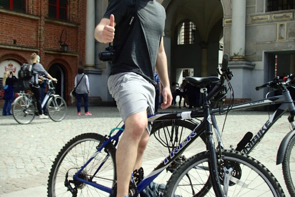 Cycling Round the Gdańsk Old Town